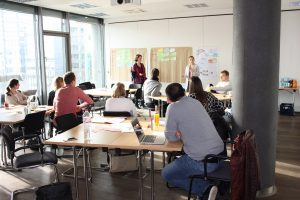Workshop für Leadership in der digitalen Arbeitswelt des HR Startups Synnous in Düsseldorf