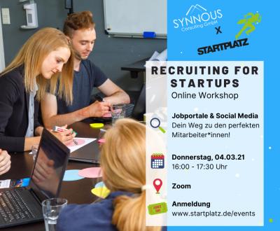 Recruiting Workshop STARTPLATZ