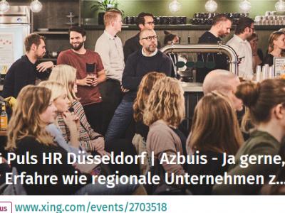 XING Puls HR Düsseldorf   Azbuis - Ja gerne, aber wie?